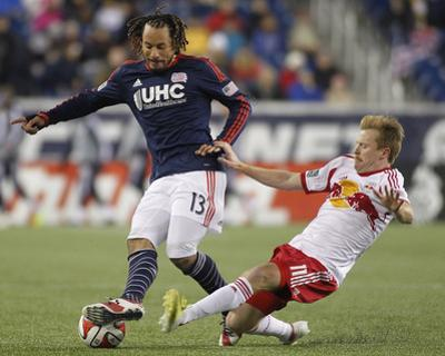 2014 MLS Eastern Conference Championship: Nov 29, Red Bulls vs Revolution - Dax McCarty by Stew Milne