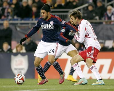 2014 MLS Eastern Conference Championship: Nov 29, Red Bulls vs Revolution - Eric Alexander by Stew Milne