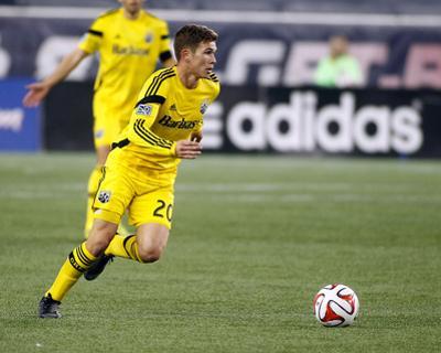 2014 MLS Playoffs: Nov 9, Columbus Crew vs New England Revolution - Wil Trapp by Stew Milne