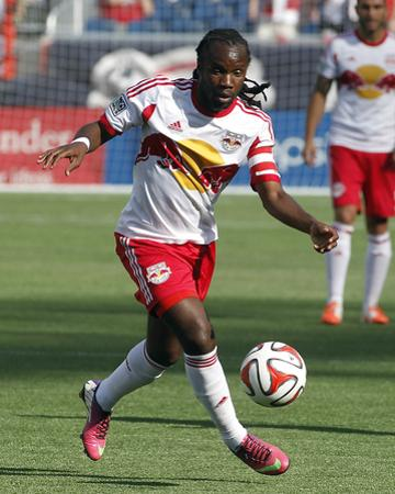 Jun 8, 2014 - MLS: New York Red Bulls vs New England Revolution - Péguy Luyindula