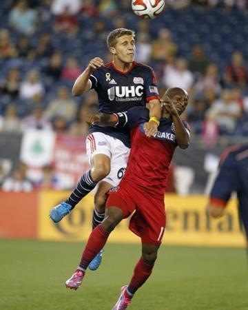 Sep 7, 2014 - MLS: Chicago Fire vs New England Revolution - Scott Caldwell by Stew Milne