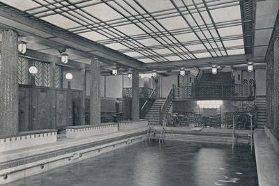 'The Bathing Pool on board S.S. Empress of Britain', 1931