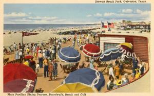 Stewart Beach Park, Galveston, Texas
