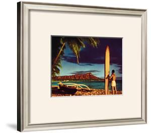 Outrigger and Diamond Head by Stewart Fern