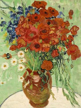 Still Life, Vase with Daisies and Poppies, 1890