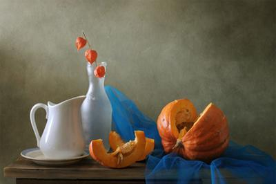Still Life with a Pumpkin