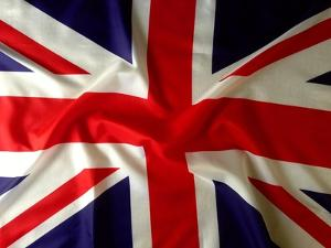 Closeup Of Union Jack Flag by STILLFX