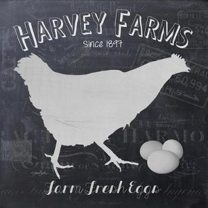 Chalkboard Hen by Stimson Stimson