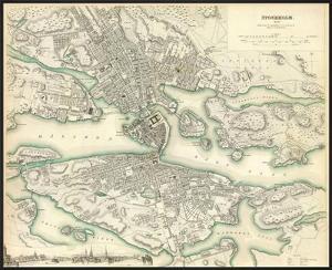 Stockholm, Sweden, c.1838
