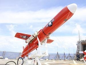 A BQM-74E Chukar Drone Ready for Launch by Stocktrek Images