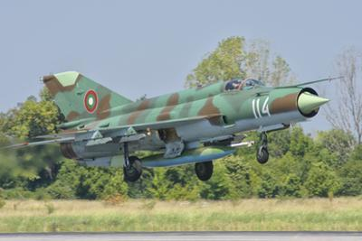 A Bulgarian Air Force Mig-21 During Exercise Thracian Star