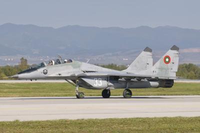 A Bulgarian Air Force Mig-29, Bulgaria