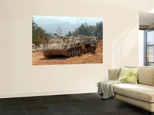 A M113 Armored Personnel Carrier of the Israel Defense Forces by Stocktrek Images