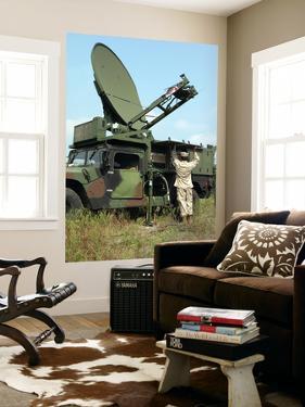 A Phoenix Tactical Satellite Terminal by Stocktrek Images
