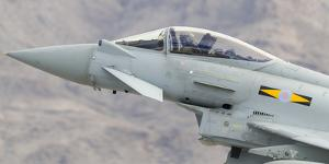 A Royal Air Force Eurofighter Typhoon Fgr4 Gets Airborne by Stocktrek Images