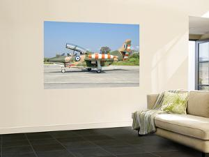 A T-2 Buckeye of the Hellenic Air Force at Kalamata Air Base, Greece by Stocktrek Images