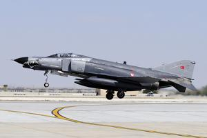 A Turkish Air Force F-4E-2020 Terminator by Stocktrek Images