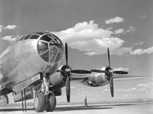 A U.S. Army Air Forces B-29 Superfortress Bomber Aircraft by Stocktrek Images