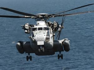 A U.S. Marine Corps CH-53E Super Stallion Helicopter by Stocktrek Images