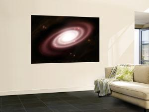 A Very Old Spiral Galaxy by Stocktrek Images