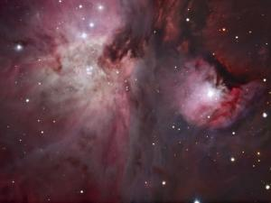 A View of the Trapezium Region, Which Lies in the Heart of the Orion Nebula by Stocktrek Images
