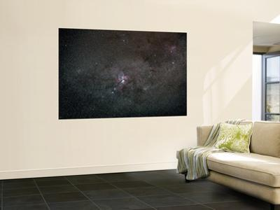 A Wide Field View Centered on the Eta Carina Nebula by Stocktrek Images