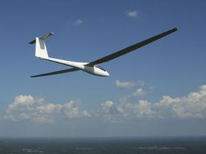 ARolladen-Schneider LS4 Glider Over Herrljunga, Sweden by Stocktrek Images