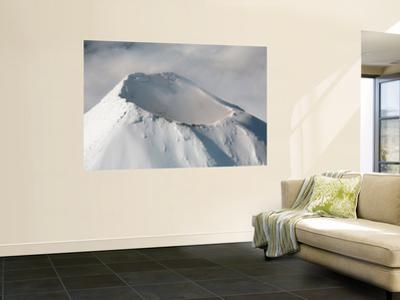 Aerial View of Summit of Shishaldin Volcano, Unimak Island, Alaska by Stocktrek Images