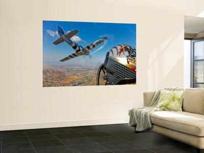 Airborne with the Horsemen Aerobatic Flight Team by Stocktrek Images