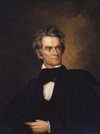 American History Print of U.S. Vice President and Senator John C. Calhoun