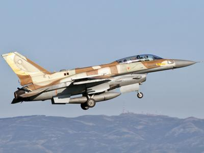 An Israeli Air Force F-16I Sufa by Stocktrek Images