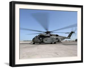 An MH-53E Sea Dragon Helicopter by Stocktrek Images