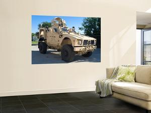 An Oshkosh M-Atv Mine Resistant Ambush Protected All-Terrain Vehicle by Stocktrek Images