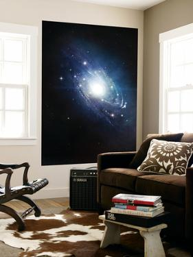 Artist's Concept of a Recently Discovered Galaxy by Stocktrek Images