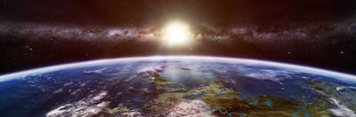 Artist's Concept of an Extraterrestrial Planet by Stocktrek Images