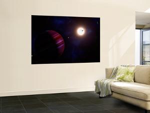 Artist's Concept of the Kepler-11 Planetary System by Stocktrek Images