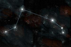 Artist's Depiction of the Constellation Aries the Ram by Stocktrek Images