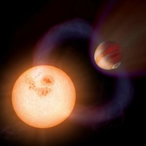 Artist's Impression of a Unique Type of Exoplanet by Stocktrek Images