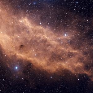 California Nebula by Stocktrek Images