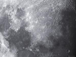 Close-Up View of the Moon by Stocktrek Images