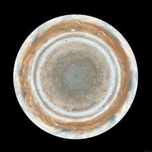 Color Map of Jupiter by Stocktrek Images