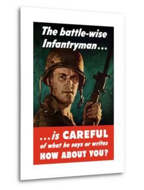 Digitally Restored War Propaganda Poster by Stocktrek Images