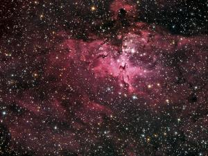 Eagle Nebula by Stocktrek Images