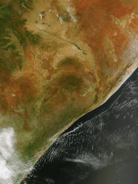 East African Nations Kenya, Somalia, and Ethiopia by Stocktrek Images