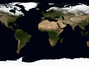 Global Image of Our World by Stocktrek Images