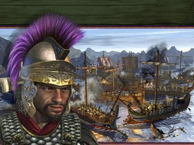 Hamilcar, the Father of Hannibal. Carthaginians Fighting Roman Galleys