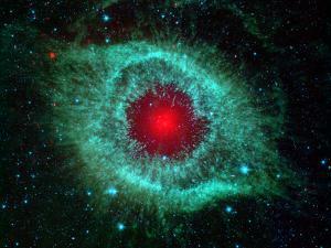 Helix Nebula by Stocktrek Images