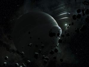 Illustration of Tyche, a Hypothetical Planet That Could Exist In the Oort Cloud in Our Solar System by Stocktrek Images