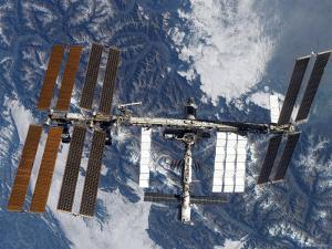 International Space Station by Stocktrek Images