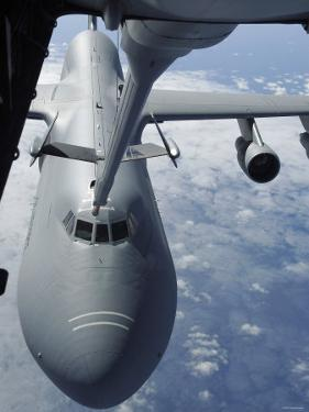 KC-10 Extender Refuels a C-5 Galaxy, July 23, 2007 by Stocktrek Images